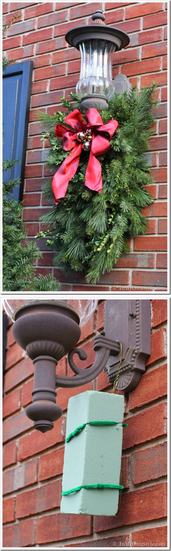 20 most beautiful outdoor decoration ideas for christmas Outdoor christmas decorations designs