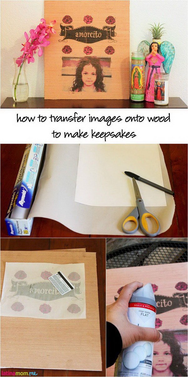 DIY Photo Transfers to Wood Tutorial.