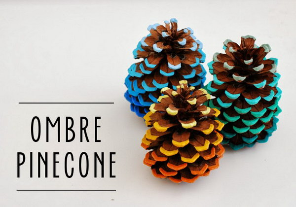 Most creative and adorable pine cone crafts for Pine cone crafts for children