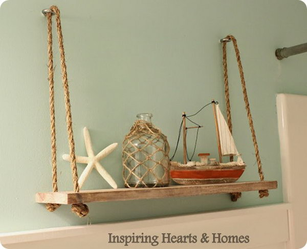 adorable swing shelf that costs under $10