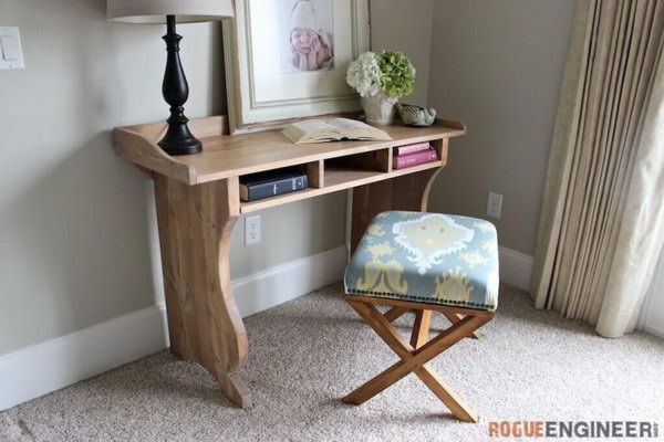 Pottery Barn Inspired Sicily Writing Desk