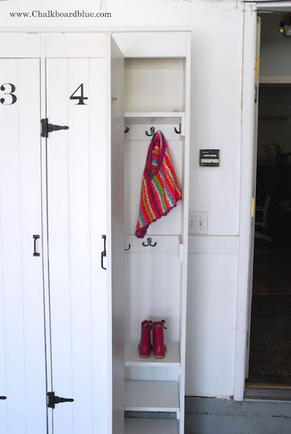 How To Build Your Pottery Barn Lockers
