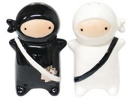 Ninja Kids Salt and Pepper Shaker($15).