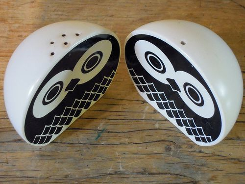 Owl Salt and Pepper Shaker.