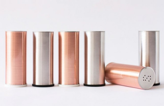 DIY Metallic Shakers.