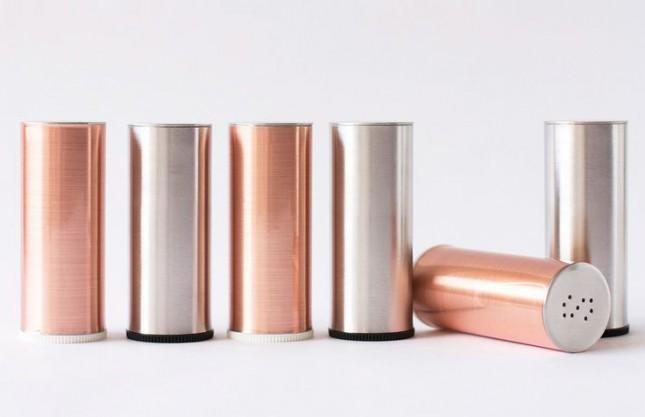 DIY Metallic Shakers.