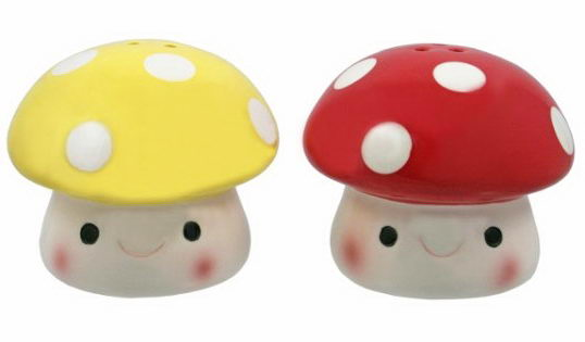 Cute Toadstool Shakers ($7).