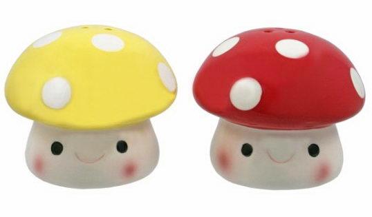 Cute Toadstool Shakers ($7).