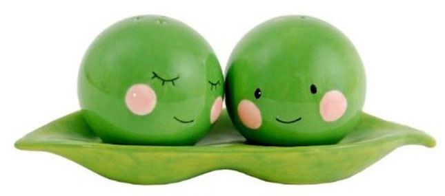 Two Peas in a Pod ($22).