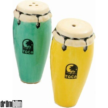 Toca Conga Salt and Pepper Shaker.