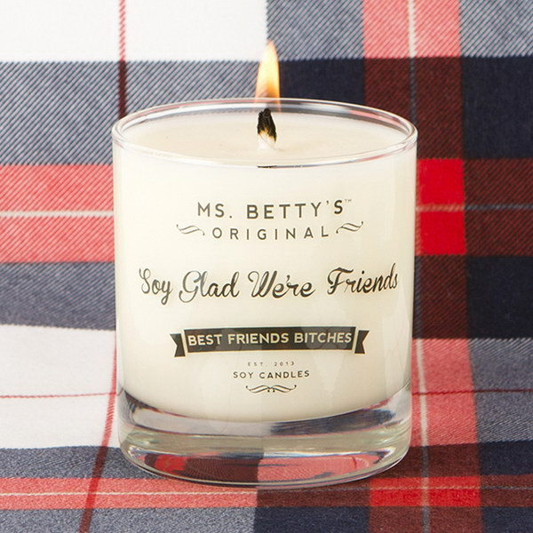 Soy Glad We Re Friends Candle