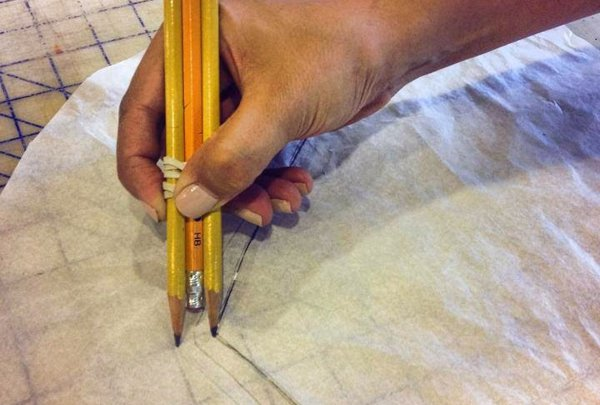 How to quickly mark your seam allowance