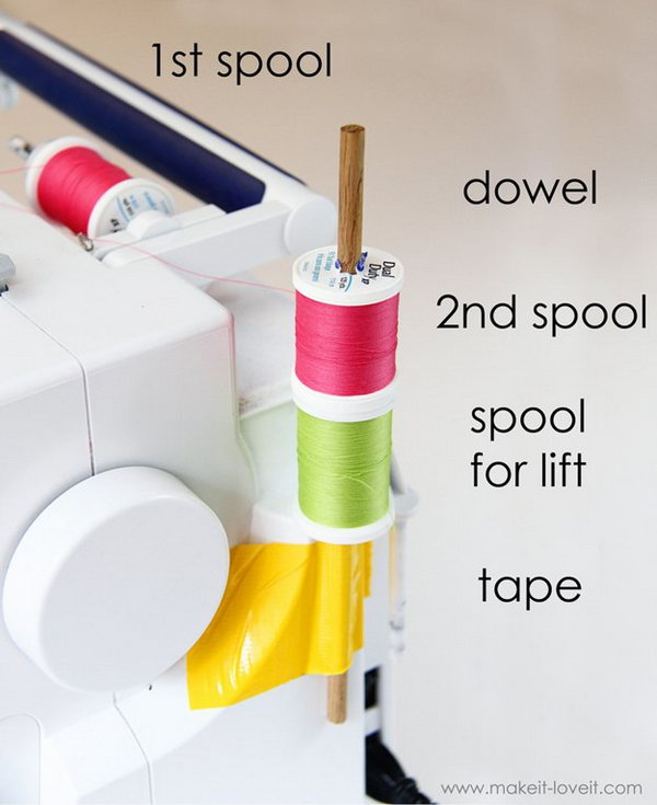 Use the Double Needle in Your Sewing Project