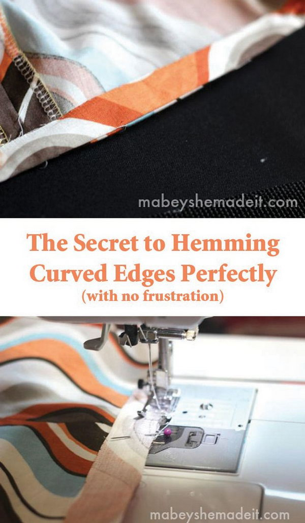 The Secret to Hemming Curved Edges