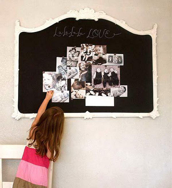 Awesome shabby chic decor diy ideas projects for Shabby chic frames diy