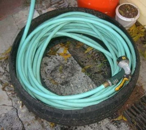 A Hose Caddy. Check out the directions