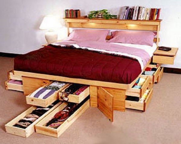 Underbed Storage Boxes. Great storage solution for tubes of gift wrap, bags, stuffing and bows with combining your bed with storage boxes behind a bed skirt. Check out more detials
