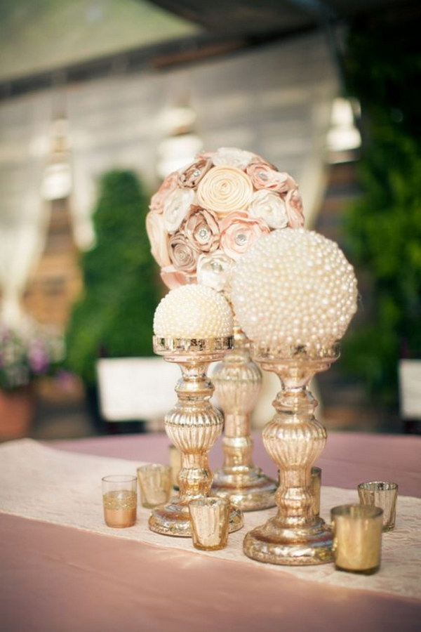Paper Flower Centerpiece Ideas : Awesome diy wedding centerpiece ideas tutorials