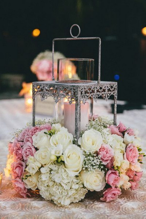 Awesome Lantern Wedding Centerpiece