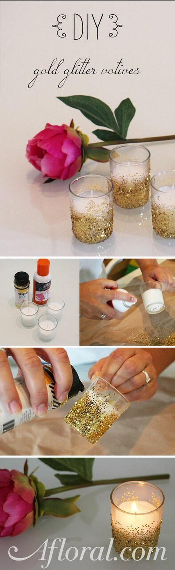 DIY Glitter Voitive
