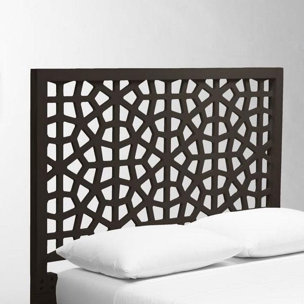 DIY West Elm Morocco Headboard.