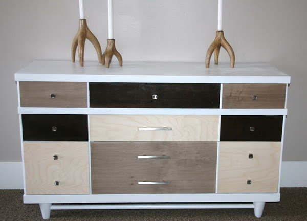 West Elm Dresser Knock-Off.