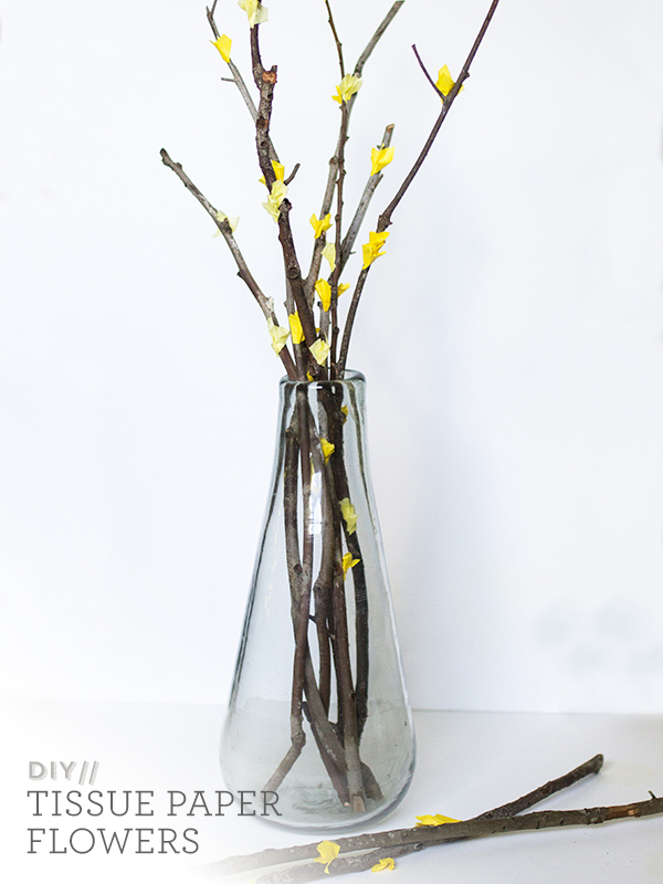 Paper Flower Branches.