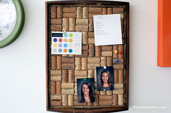 wine cork ideas crafts 30 amazing wine cork crafts amp projects 5726