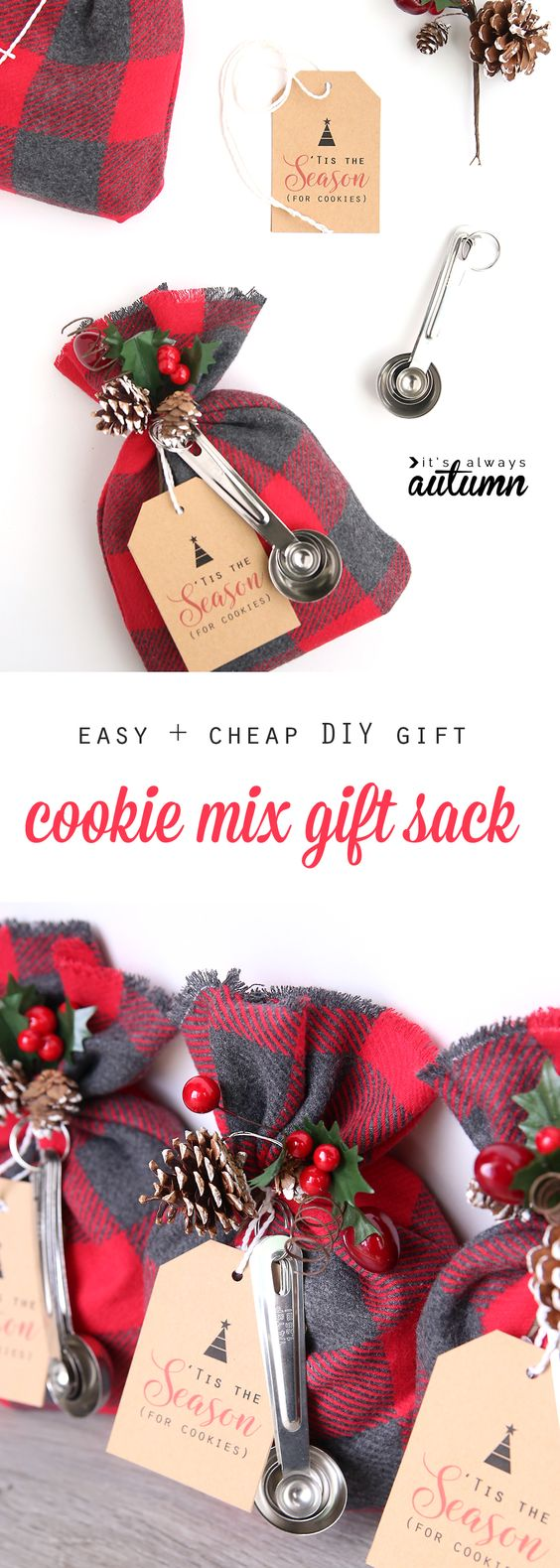 Cookie Mix Gift Sack.