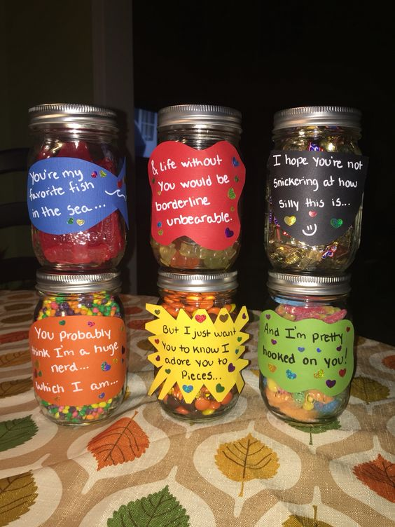 Gummy Gifts With Clever Quotes.