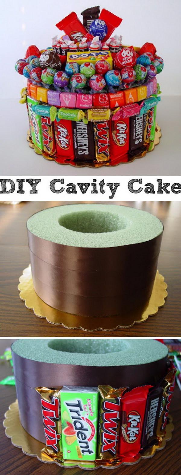 DIY Cavity Cake.