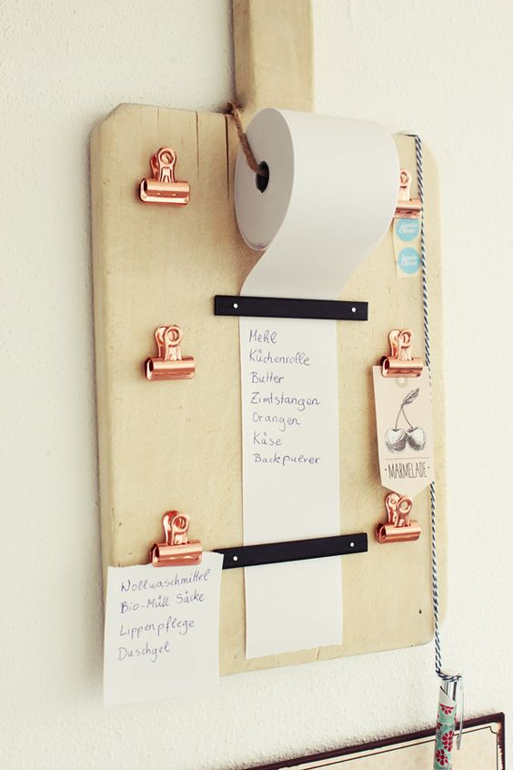 Shopping List Organizer.
