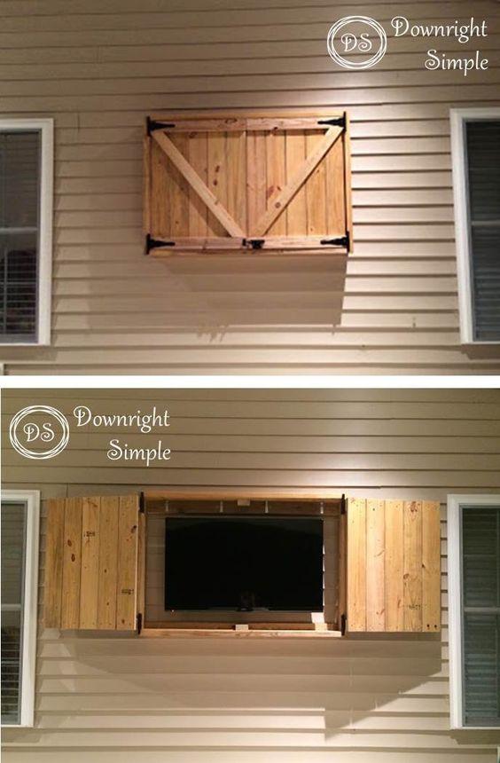 Outdoor TV Cabinet.