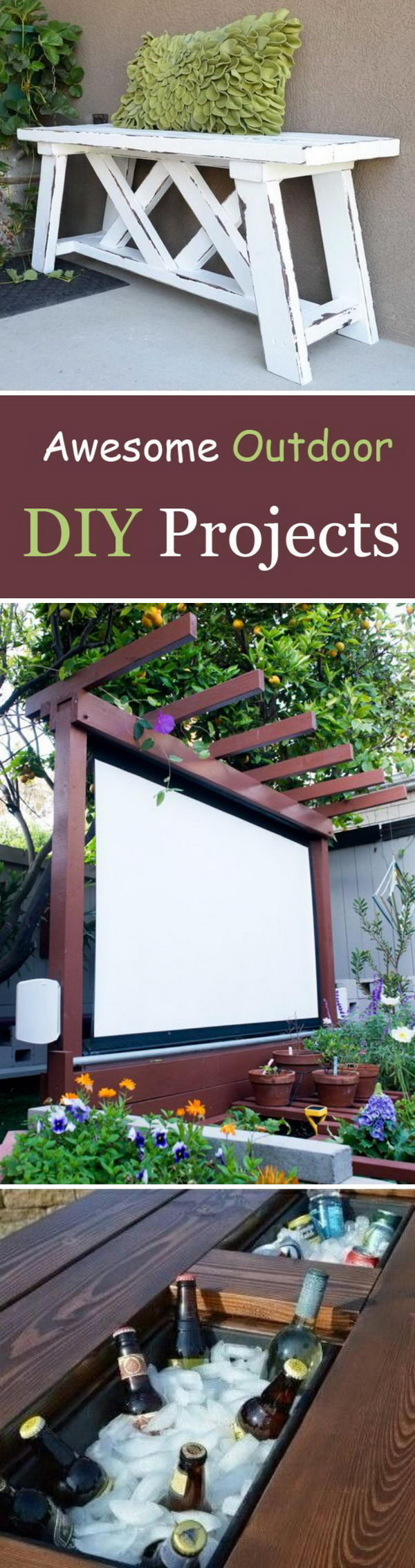 Awesome Outdoor DIY Projects.