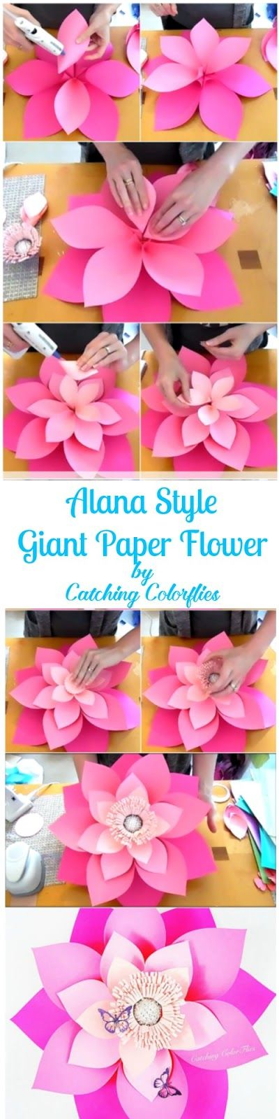 20 creative paper flower diy projects for your home decoration diy alana style layered paper flower mightylinksfo