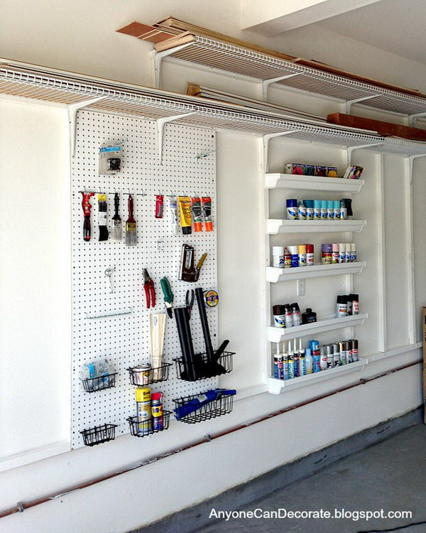 30 Great DIY Ideas For Garage Storage And Organization