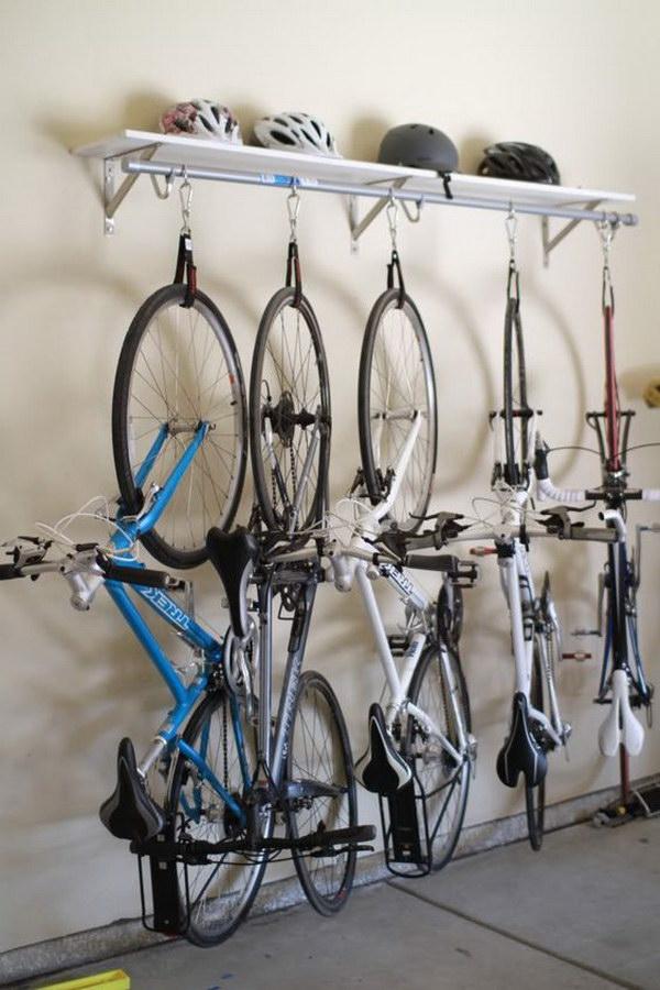 DIY Bike Rack.