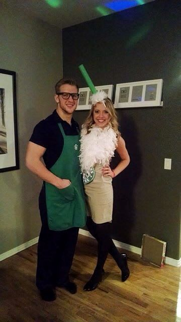 starbucks drink couples costumes
