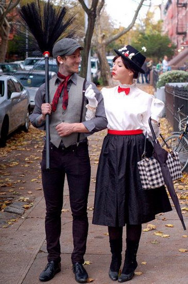 Mary Poppins And Bert Costumes.