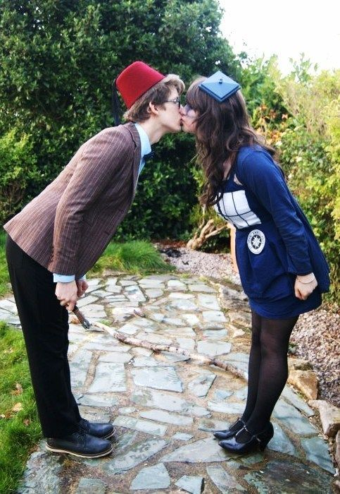Dr. Who Couples Costumes.