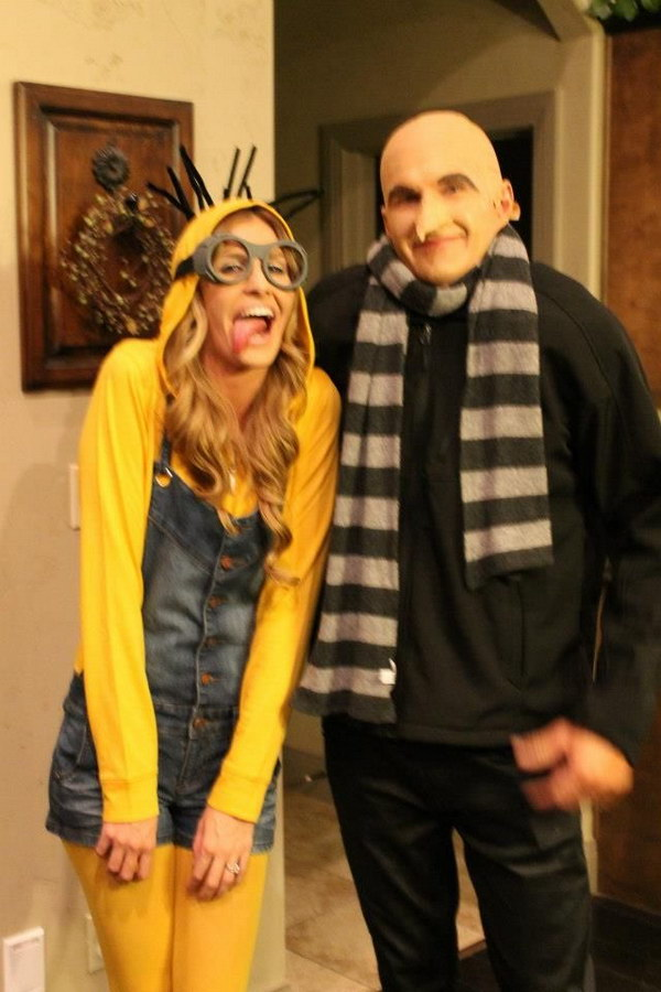 Minion and Dr. Gru  Ryan Costumes.