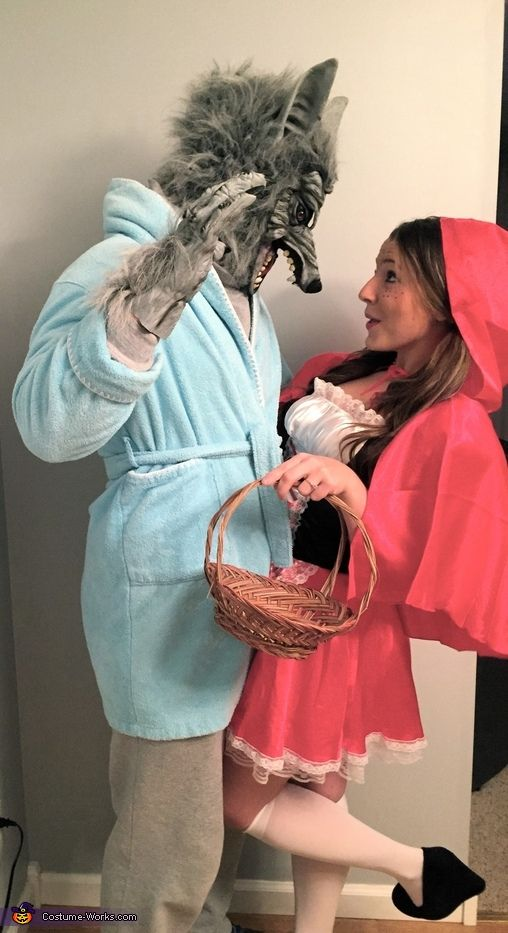 Little Red Riding Hood u0026 the Big Bad Wolf Costume  sc 1 st  OFriendly & 60+ Halloween Costumes For Couples