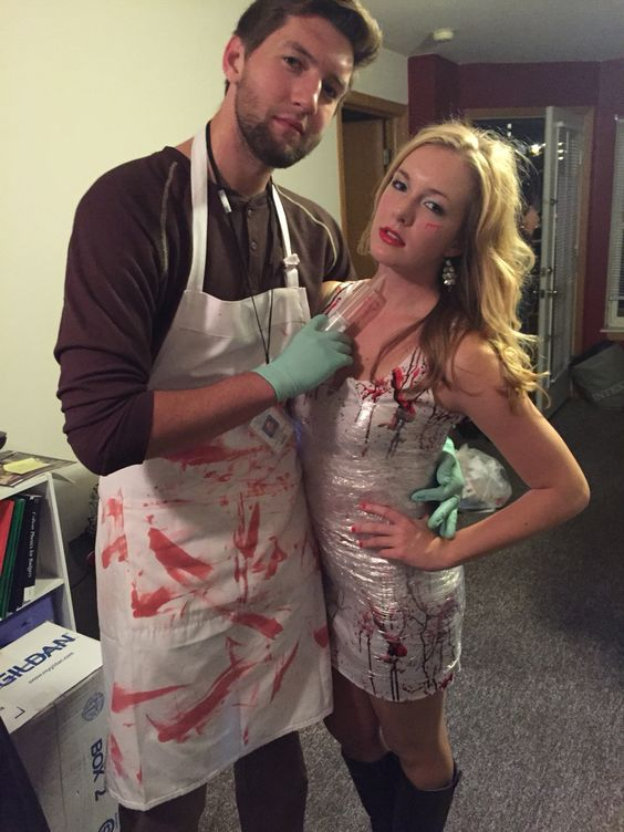 Dexter Couple Costumes.