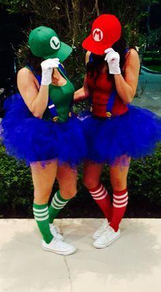 Mario and Luigi Halloween Costumes.