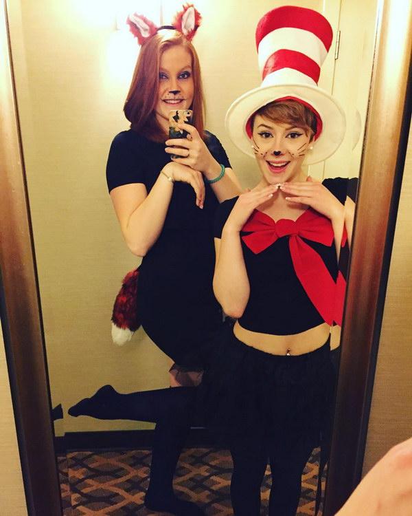 Fox in Socks and Cat in the Hat.
