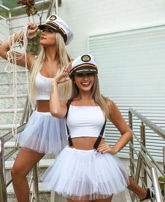 Sailors Halloween Costume.