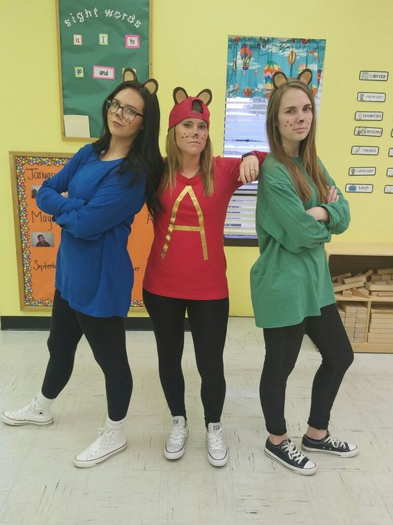 Alvin And The Chipmunks Costumes.