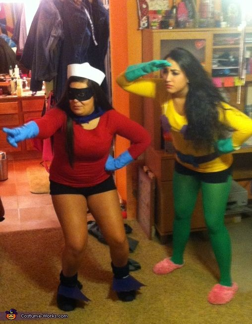 Mermaid Man And Barnacle Boy Costumes.