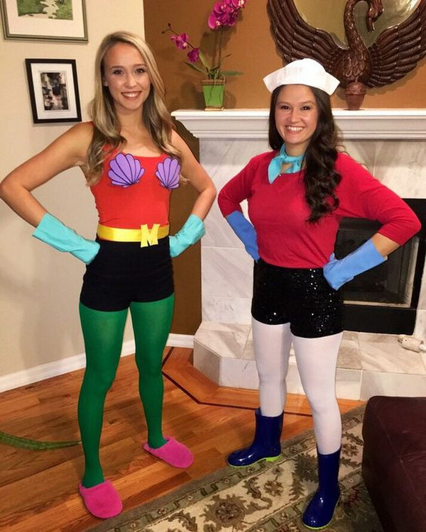 Halloween Costumes For Two Friends.30 Halloween Costumes For Best Friends