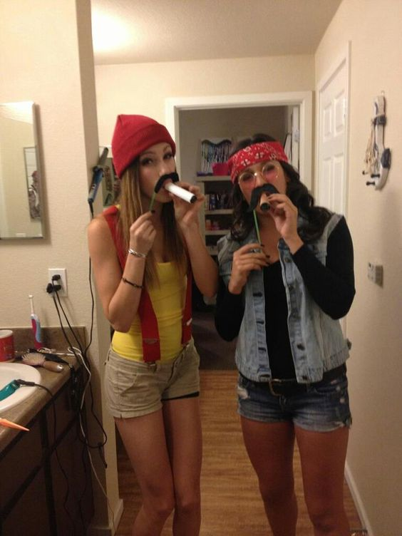 Cheech And Chong Costume.